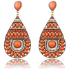 Bohemian Beaded Drop Earrings