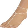 Imitation Pearl Beach Anklet