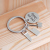 LOVE YOU DADDY Repair Tools Charms Keychain