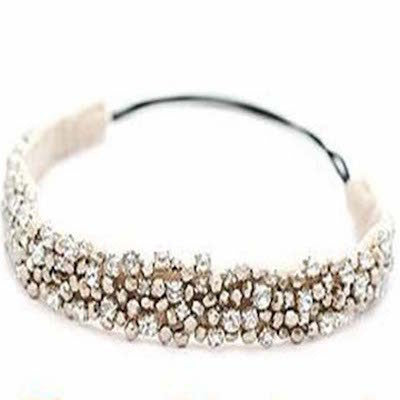 Beads & Gems Elastic Hairband