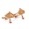 Candle Stand Shape Cufflinks