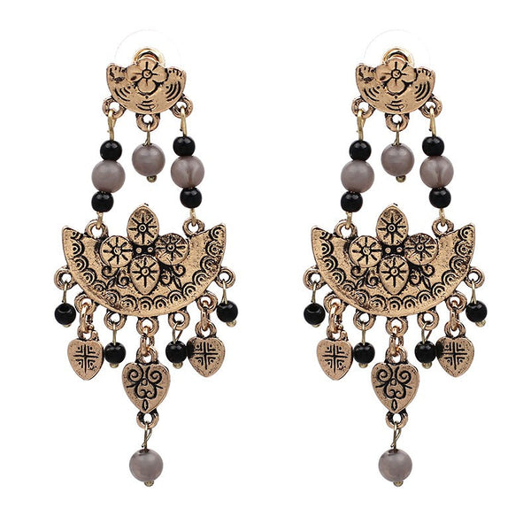 Chandelier Vintage Drop Earrings