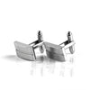 Split Rectangle Cufflinks