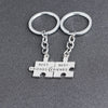 BEST FRIENDS Puzzle Keychain