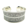 Antique Silver Carved Bracelet