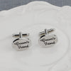 Groom's Friend Wedding Cufflinks