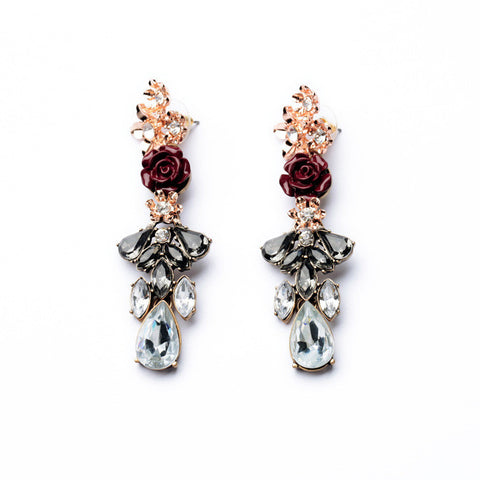 Wild Roses Drop Earrings