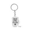 BEST DAD IN THE WORLD Keychain