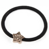 Star/Cat/Bow/Teddy Metal Charms Elastic Bands (Set of 4)