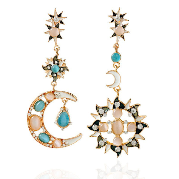 Star & Moon Earrings
