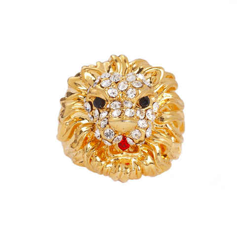 Elegant Lion Ring