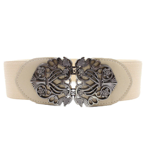 Vintage Metal Buckle Belt
