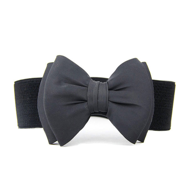 Big Bow Buckle Waist Belt