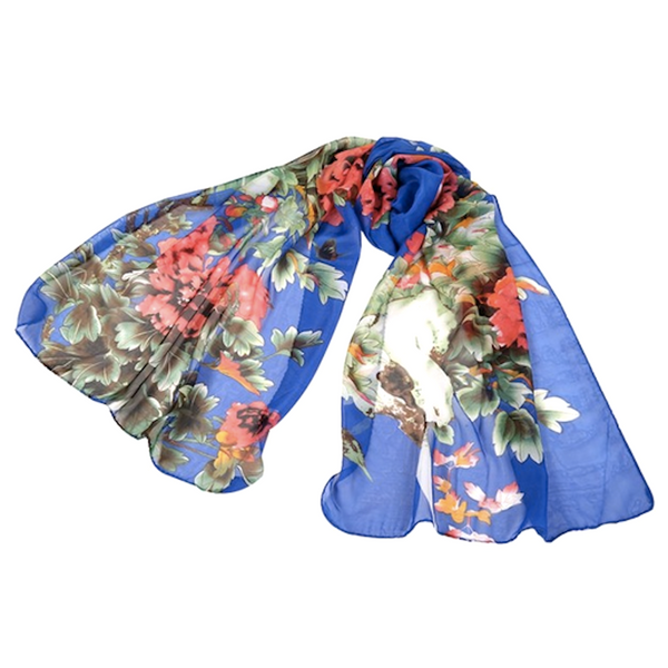Summer Flowers Scarf