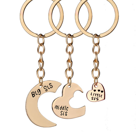 Sister Love Keychain