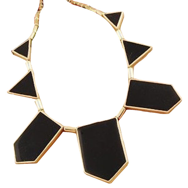 Abstract Geometry Necklace
