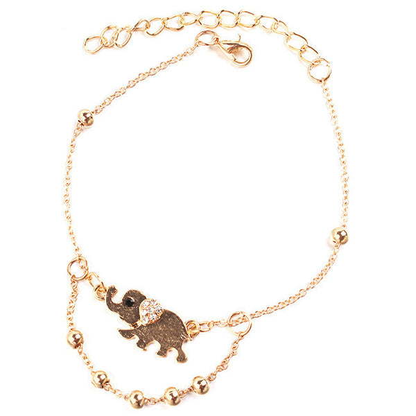 Cute Elephant Anklet
