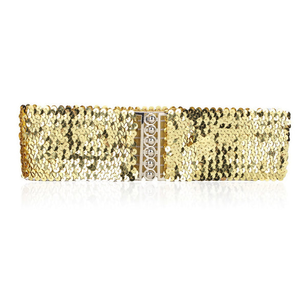 Sequins Bling Waist Belt
