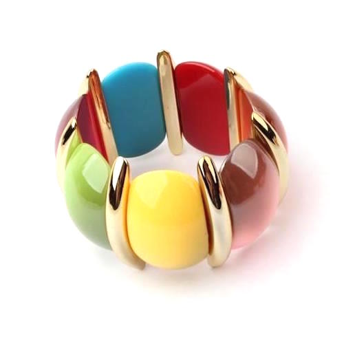Flower Shape Stretch Bracelet