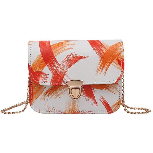 Brush Strokes Pattern Sling Bag