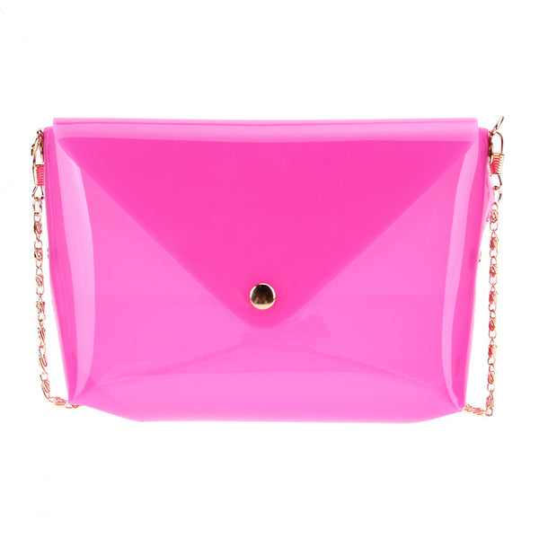 Transparent Jelly Sling Bag