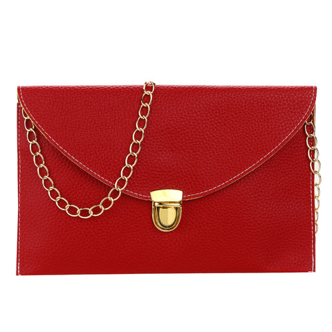 Retro Envelope Clutch Sling Bag