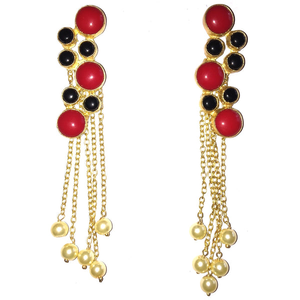 Royal Bubbles Pearl Drop Danglers