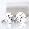 Car Gear Box Cufflinks