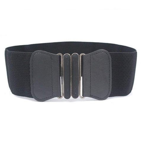 Wide Bowknot Waist Belt