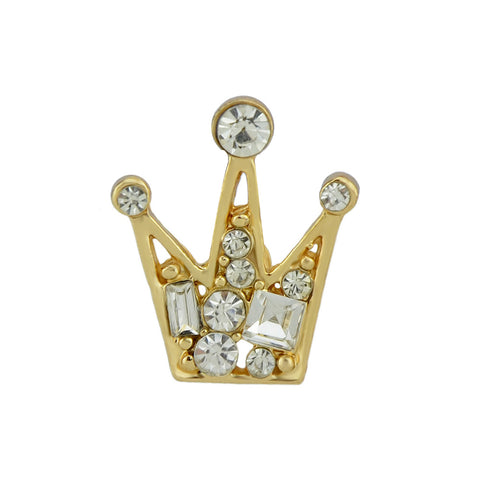 Imperial Crown Collar Pin