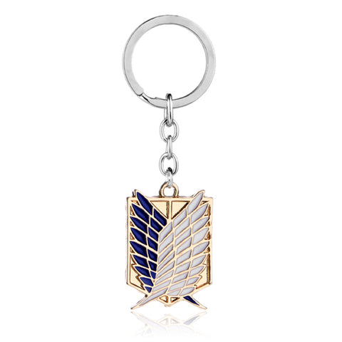 Attack on Titan Logo Keychain