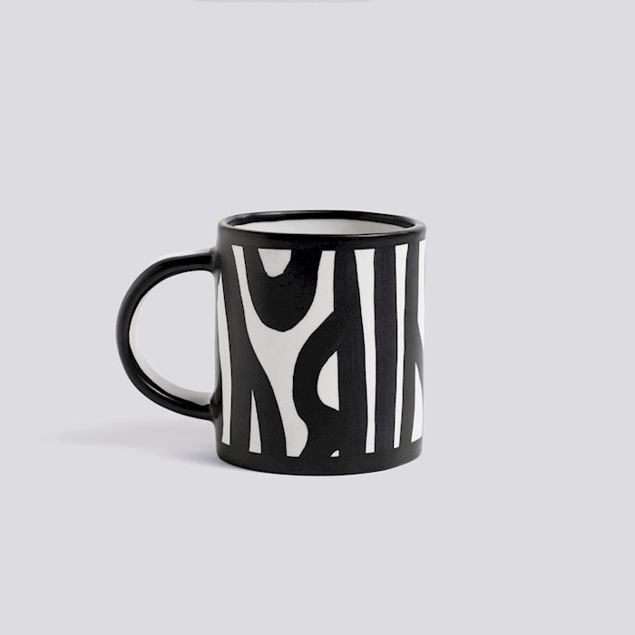 HAY WOOD MUG - White