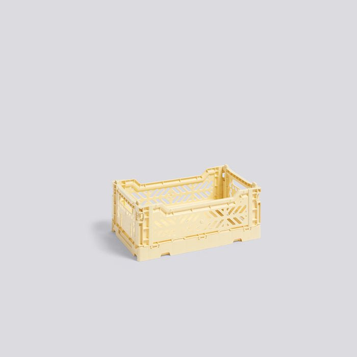 HAY COLOUR CRATE S - Light Yellow
