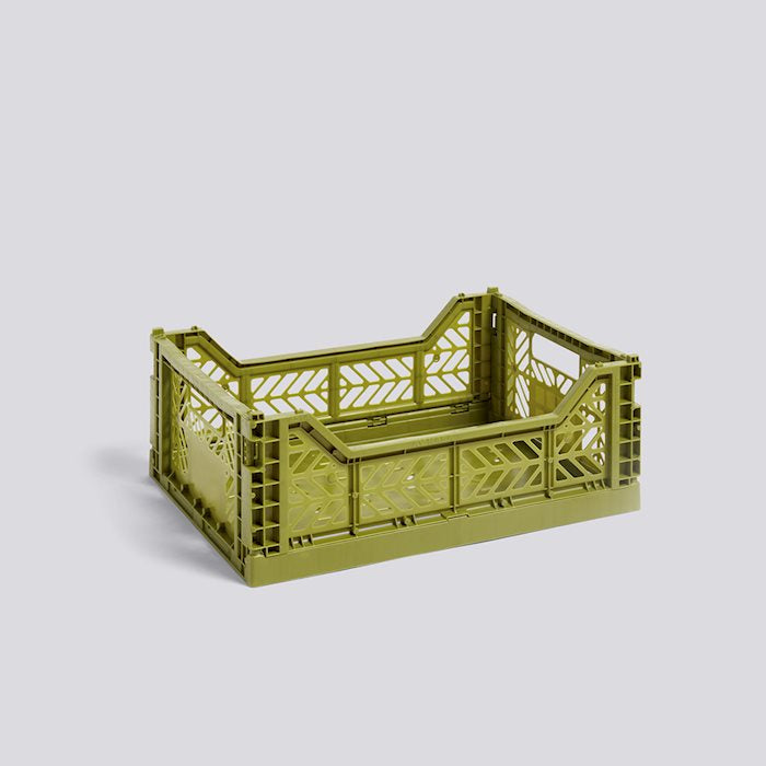 HAY COLOUR CRATE M - Olive