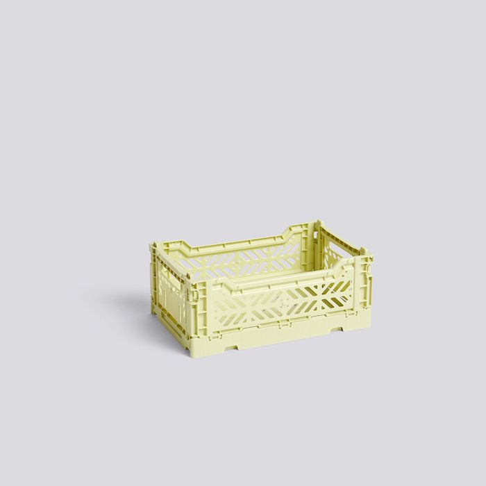 HAY COLOUR CRATE S - Lime