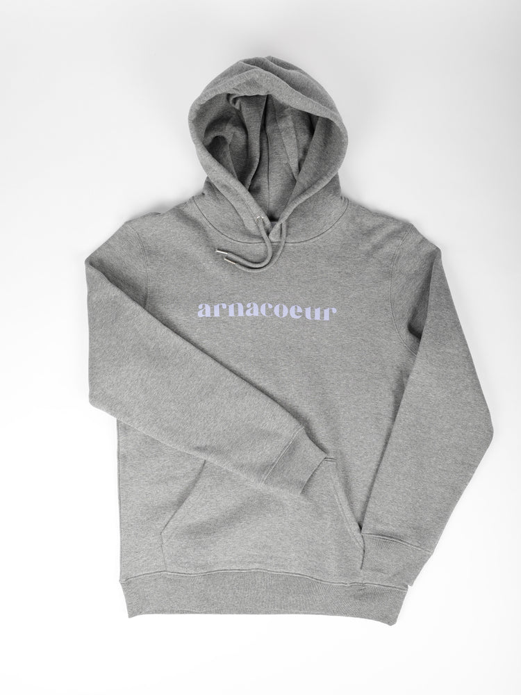 ICONIQUE HOODIE - Heather Grey