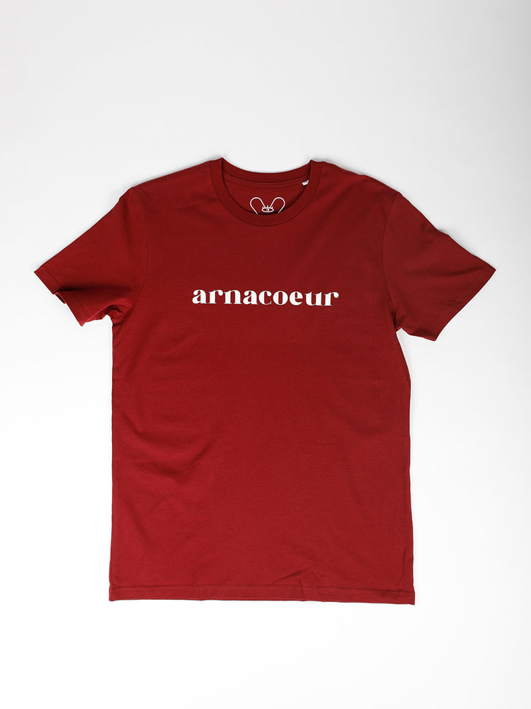 ICONIQUE T-SHIRT - Burgundy