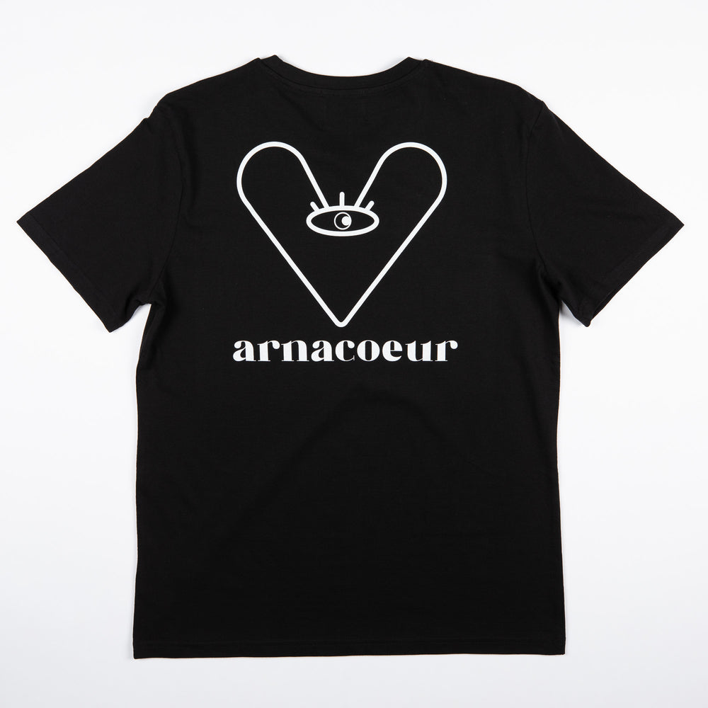 LOGO T-SHIRT - Black/White