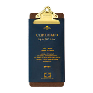 HIGHTIDE PENCO CLIPBOARD GOLD (SLIM)