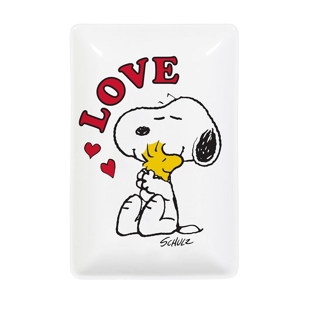 Snoopy Trinket Tray - Love