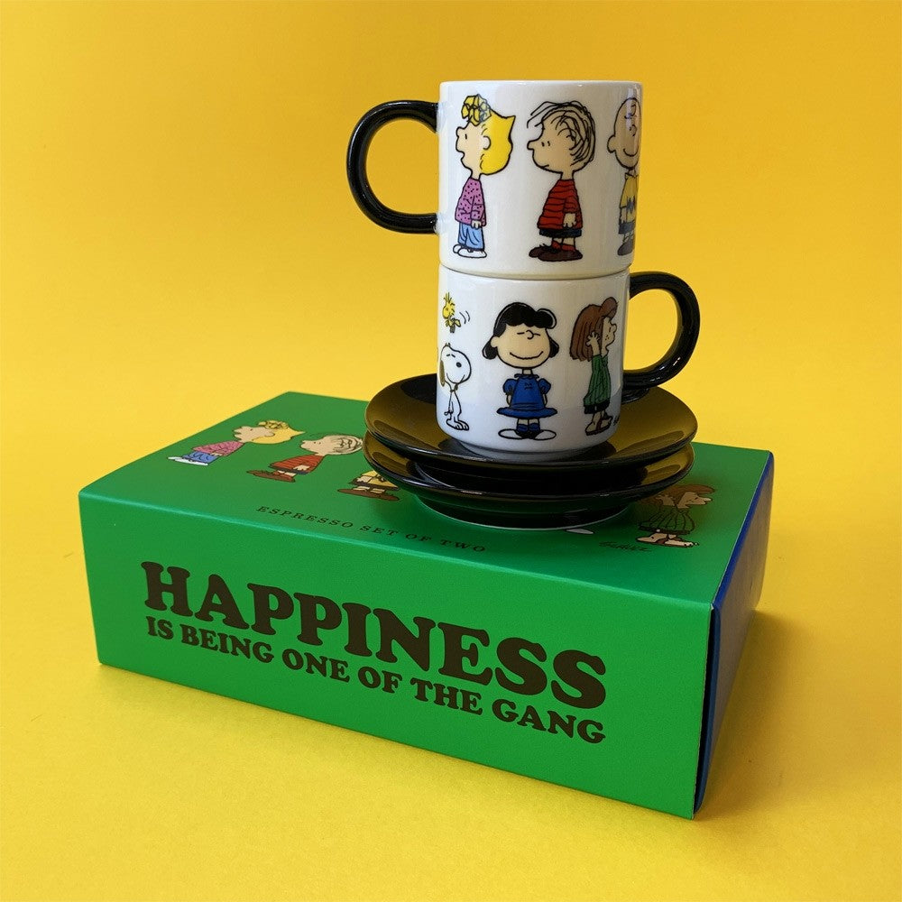 Snoopy Gang expresso set