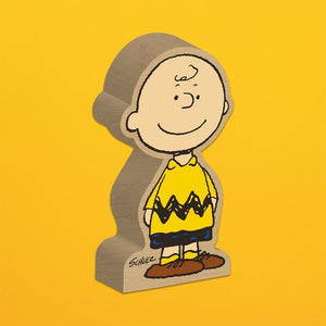 Charger l'image dans la galerie, SNOOPY WOOD BLOCK - Charlie Brown