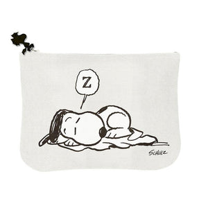 Snoopy Zipper Pouch - Allergic to Mornings