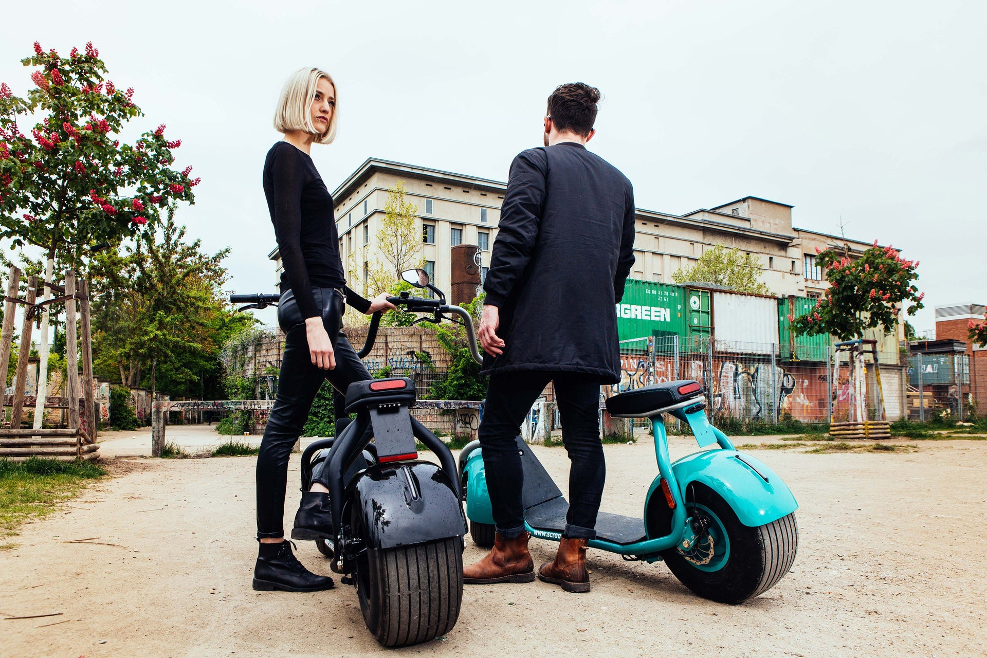 electric scooter made in germany buy your scrooser online. Black Bedroom Furniture Sets. Home Design Ideas