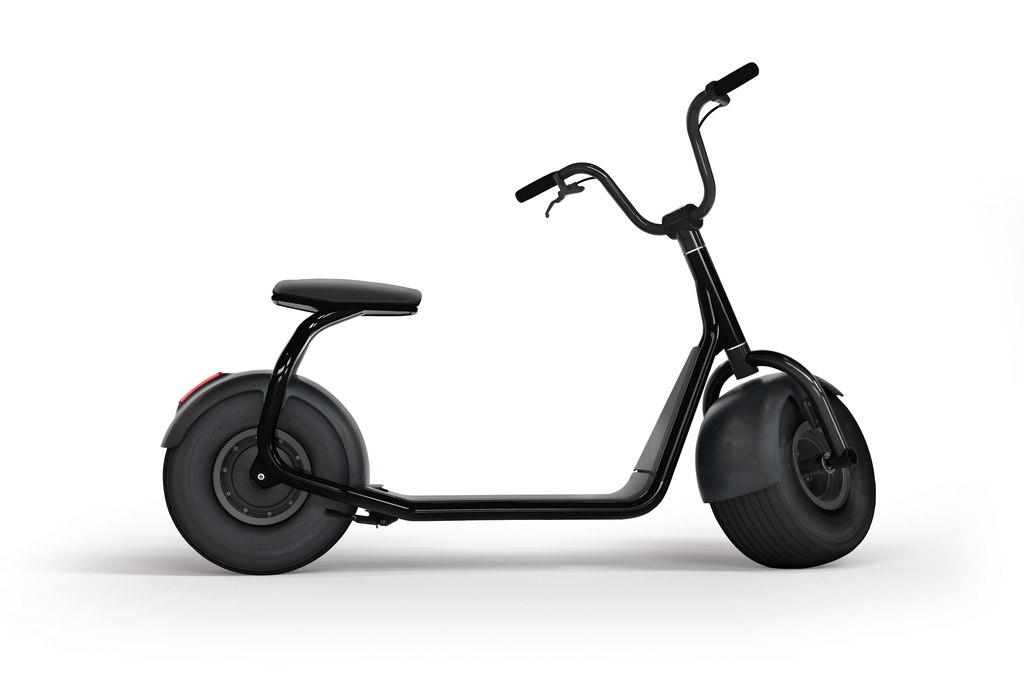 SCROOSER electric scooter. Ride with road approval at 20 km/h up to 55 km far.
