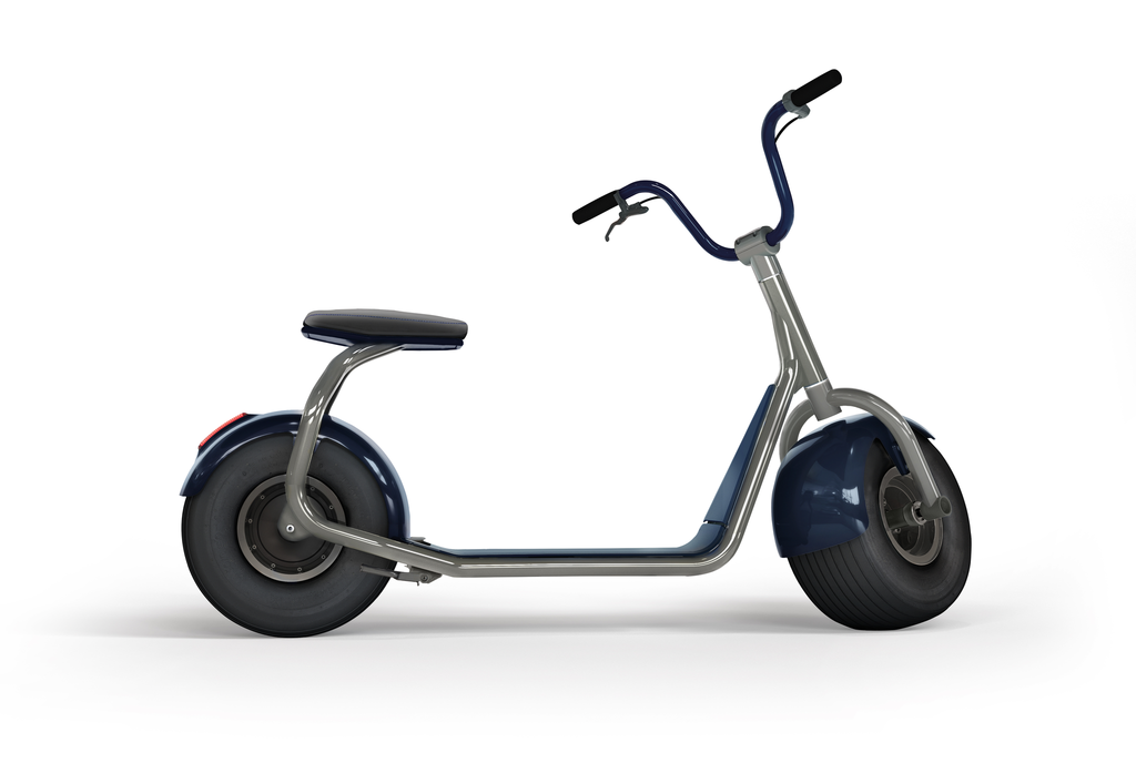 electric scooter SCROOSER Brand Blue PRIME