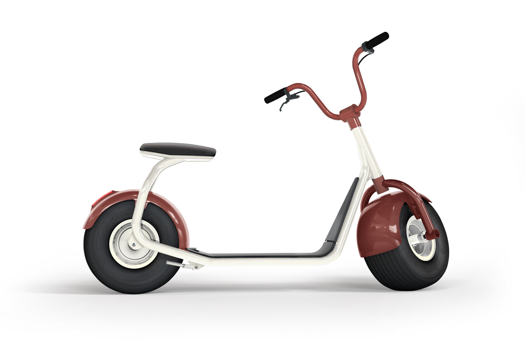 electric scooter SCROOSER Copper Brown PRIME