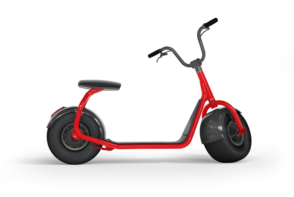 electric scooter SCROOSER Juicy Red PURE