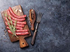 Lamb and Apricot Sausage