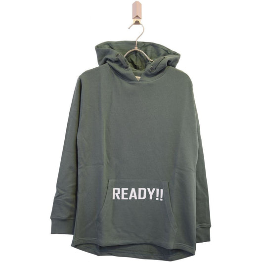 Add to Bag Boy Fashion hoodie Sweat 410 Dusty green